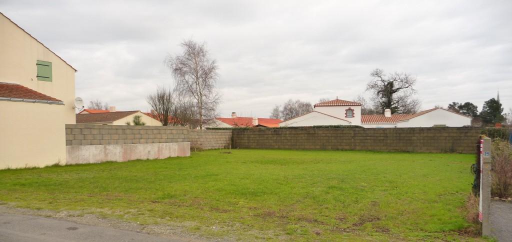 Terrain à bâtir sur la commune de Soullans